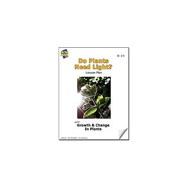 On The Mark Press Do Plants Need Light? Lesson Plan Science Workbook, Grade 2 - Grade 3 [eBook]