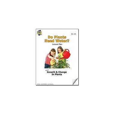 On The Mark Press Do Plants Need Water? Lesson Plan Science Workbook, Grade 2 - Grade 3 [eBook]