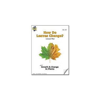 On The Mark Press How Do Leaves Change? Lesson Plan Science Workbook, Grade 2 - Grade 3 [eBook]