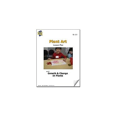 On The Mark Press Plant Art Lesson Plan Science Workbook, Grade 2 - Grade 3 [eBook]