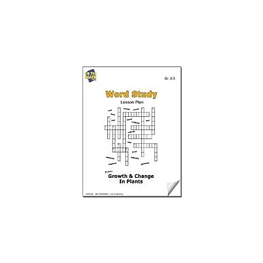 On The Mark Press Plant Word Study Lesson Plan Science Workbook, Grade 2 - Grade 3 [eBook]