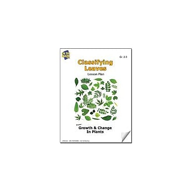 On The Mark Press Classifying Leaves Lesson Plan Science Workbook, Grade 2 - Grade 3 [eBook]