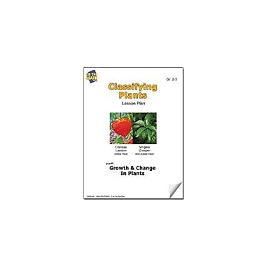 On The Mark Press Classifying Plants Lesson Plan Science Workbook, Grade 2 - Grade 3 [eBook]