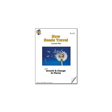 On The Mark Press How Seeds Travel Lesson Plan Science Workbook, Grade 2 - Grade 3 [eBook]