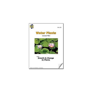 On The Mark Press Water Plants Lesson Plan Science Workbook, Grade 2 - Grade 3 [eBook]