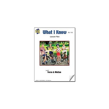 On The Mark Press What I Know Lesson Plan Science Workbook, Grade 1 - Grade 3 [eBook]