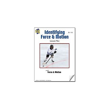 On The Mark Press Identifying Force and Motion Lesson Plan Science Workbook, Grade 1 - Grade 3 [eBook]