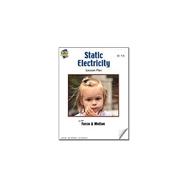 On The Mark Press Static Electricity Lesson Plan Science Workbook, Grade 1 - Grade 3 [eBook]