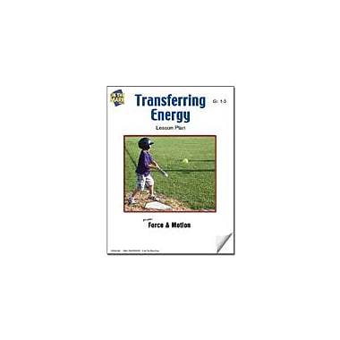 On The Mark Press Transferring Energy Lesson Plan Science Workbook, Grade 1 - Grade 3 [eBook]