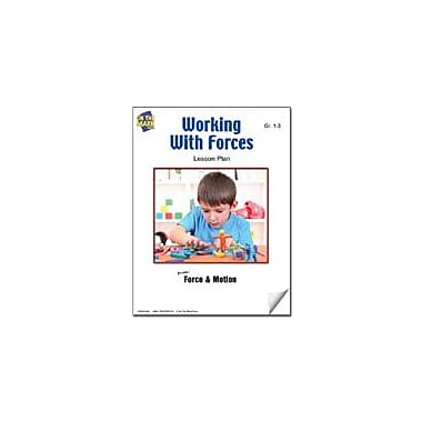 On The Mark Press Working With Forces Lesson Plan Science Workbook, Grade 1 - Grade 3 [eBook]
