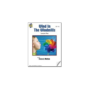 On The Mark Press Wind In the Windmills Lesson Plan Science Workbook, Grade 1 - Grade 3 [eBook]
