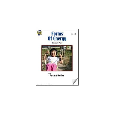 On The Mark Press Forms of Energy Lesson Plan Science Workbook, Grade 1 - Grade 3 [eBook]