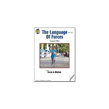 On The Mark Press The Language of Forces Lesson Plan Science Workbook, Grade 1 - Grade 3 [eBook]