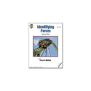 On The Mark Press Identifying Forces Lesson Plan Science Workbook, Grade 1 - Grade 3 [eBook]
