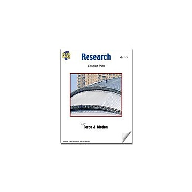 On The Mark Press Research Lesson Plan Science Workbook, Grade 1 - Grade 3 [eBook]