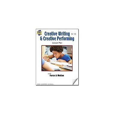 On The Mark Press Creative Writing and Creative Performing Lesson Plan Science Workbook, Grade 1 - Grade 3 [eBook]