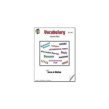 On The Mark Press Vocabulary Lesson Plan Science Workbook, Grade 4 - Grade 6 [eBook]