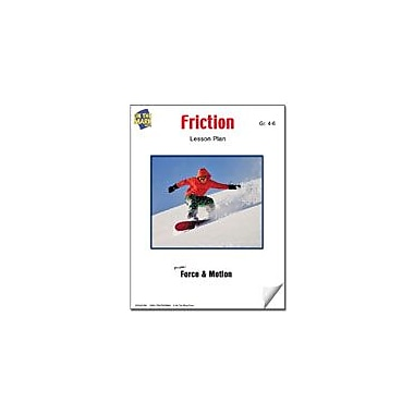 On The Mark Press Friction Lesson Plan Science Workbook, Grade 4 - Grade 6 [eBook]