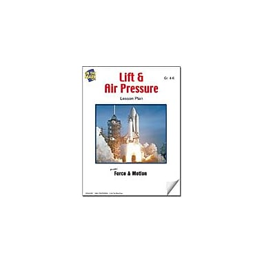 On The Mark Press Lift and Air Pressure Lesson Plan Science Workbook, Grade 4 - Grade 6 [eBook]