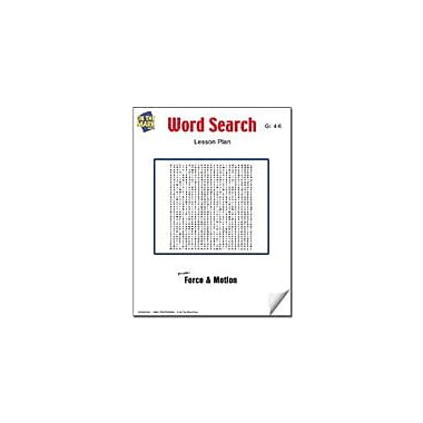 On The Mark Press Word Search Lesson Plan Science Workbook, Grade 4 - Grade 6 [eBook]