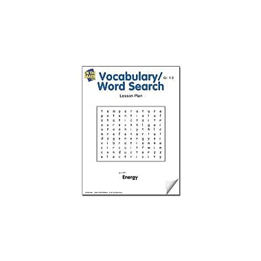 On The Mark Press Vocabulary/Word Search Lesson Plan Science Workbook, Grade 1 - Grade 3 [eBook]