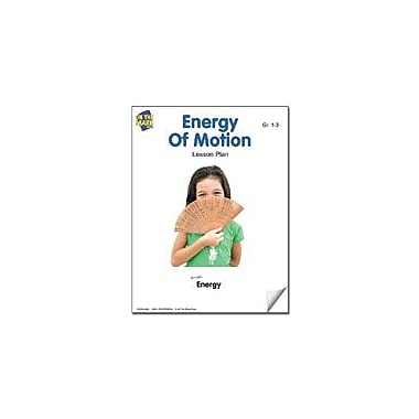 On The Mark Press Energy of Motion Lesson Plan Science Workbook, Grade 1 - Grade 3 [eBook]