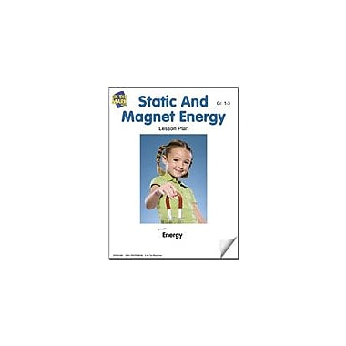On The Mark Press Static and Magnet Energy Lesson Plan Science Workbook, Grade 1 - Grade 3 [eBook]
