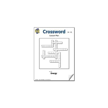 On The Mark Press Crossword Lesson Plan Science Workbook, Grade 1 - Grade 3 [eBook]