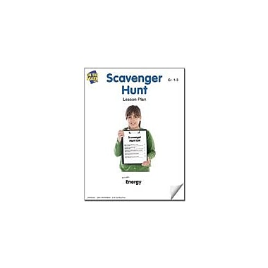 On The Mark Press Scavenger Hunt Lesson Plan Science Workbook, Grade 1 - Grade 3 [eBook]