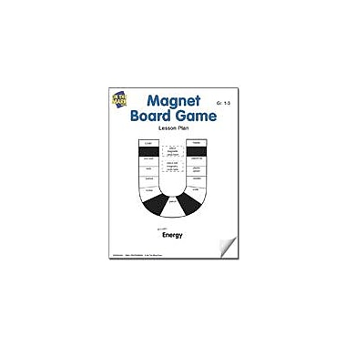 On The Mark Press Magnet Board Game Lesson Plan Science Workbook, Grade 1 - Grade 3 [eBook]