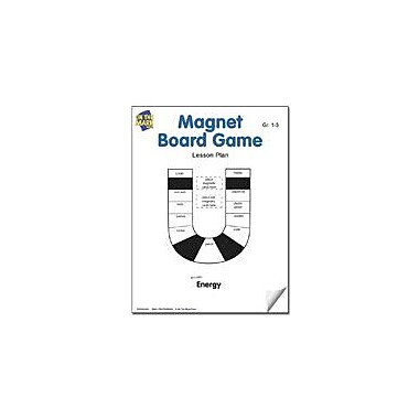 On The Mark Press Magnet Board Game Lesson Plan Science Workbook, Grade 1 - Grade 3 [eBook]