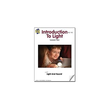 On The Mark Press Introduction to Light Lesson Plan Science Workbook, Grade 1 - Grade 3 [eBook]