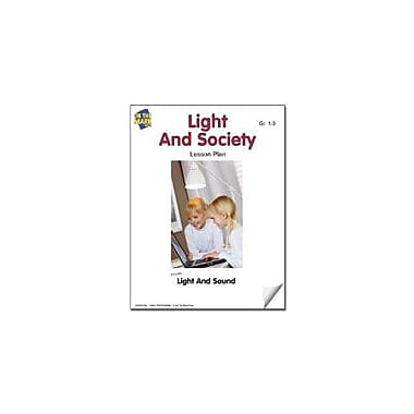 On The Mark Press Light and Society Lesson Plan Science Workbook, Grade 1 - Grade 3 [eBook]