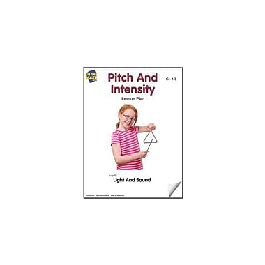 On The Mark Press Pitch and Intensity Lesson Plan Science Workbook, Grade 1 - Grade 3 [eBook]