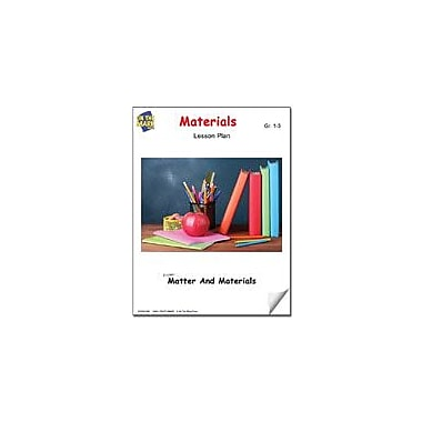 On The Mark Press Materials Lesson Plan Science Workbook, Grade 1 - Grade 3 [eBook]