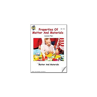 On The Mark Press Properties of Matter and Materials Lesson Plan Science Workbook, Grade 1 - Grade 3 [eBook]