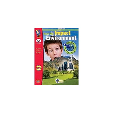 On The Mark Press How We Impact the Environment Science Workbook, Grade 5 - Grade 8 [Enhanced eBook]