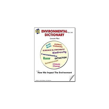 On The Mark Press Environmental Dictionary Lesson Plan Science Workbook, Grade 5 - Grade 8 [eBook]