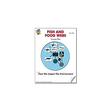 On The Mark Press Fish and Food Webs Lesson Plan Science Workbook, Grade 5 - Grade 6 [eBook]
