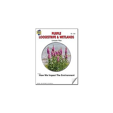 On The Mark Press Purple Loosestrife & Wetlands Lesson Plan Science Workbook, Grade 6 - Grade 7 [eBook]