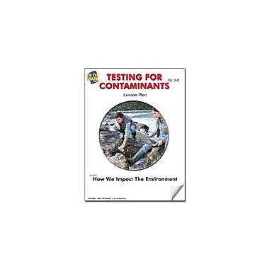 On The Mark Press Testing for Contaminants Lesson Plan Science Workbook, Grade 6 - Grade 8 [eBook]