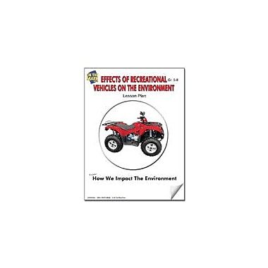 On The Mark Press Effects of Recreational Vehicles On the Environment Lesson Plan Science Workbook, Grade 7 - Grade 8 [eBook]