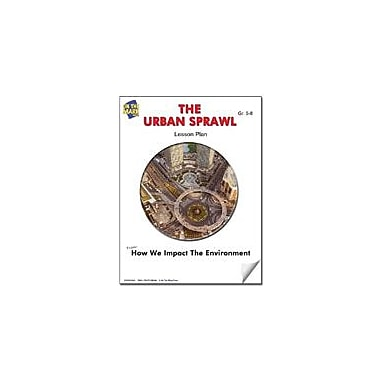 On The Mark Press The Urban Sprawl Lesson Plan Science Workbook, Grade 7 - Grade 8 [eBook]