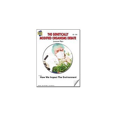 On The Mark Press The Genetically Modified Organisms Debate Lesson Plan Science Workbook, Grade 7 - Grade 8 [eBook]