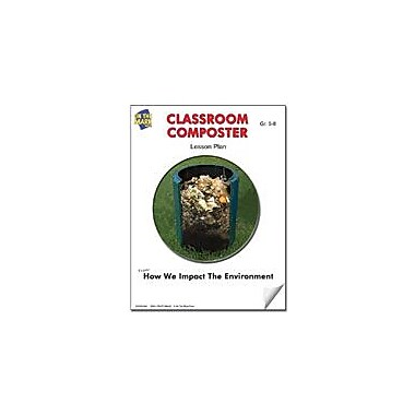 On The Mark Press Classroom Composter Lesson Plan Science Workbook, Grade 5 - Grade 8 [eBook]
