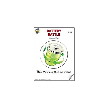 On The Mark Press Battery Battle Lesson Plan Science Workbook, Grade 5 - Grade 8 [eBook]