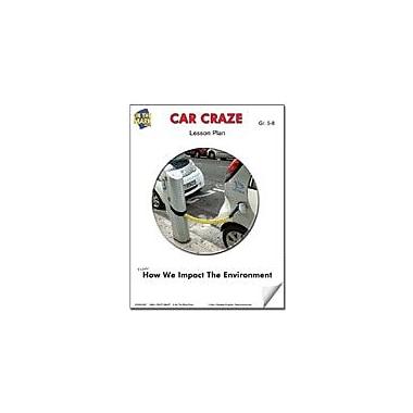 On The Mark Press Car Craze Lesson Plan Science Workbook, Grade 6 - Grade 8 [eBook]