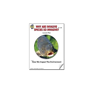 On The Mark Press Why Are Invasive Species So Invasive? Lesson Plan Science Workbook, Grade 5 - Grade 8 [eBook]
