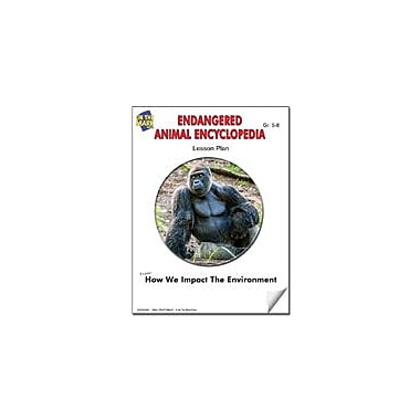 On The Mark Press Endangered Animal Encyclopedia Lesson Plan Science Workbook, Grade 5 - Grade 8 [eBook]