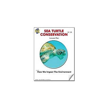 On The Mark Press Sea Turtle Conservation Lesson Plan Science Workbook, Grade 5 - Grade 6 [eBook]